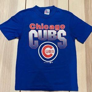 Vtg '91 Chicago Cubs Screen Print Baseball Shirt